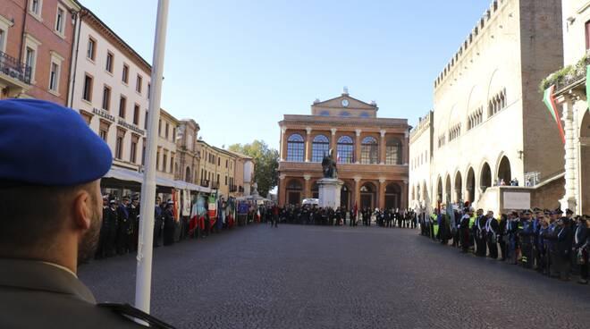 Rimini ha celebrato la giornata dell'Unità nazionale e delle Forze armate
