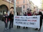 Strage Valle della Canna. Flash mob in piazza a Ravenna