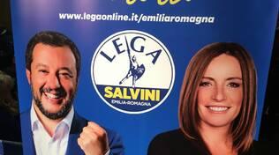 5 dicembre 2019: Matteo Salvini inaugura la sede della Lega a Ravenna