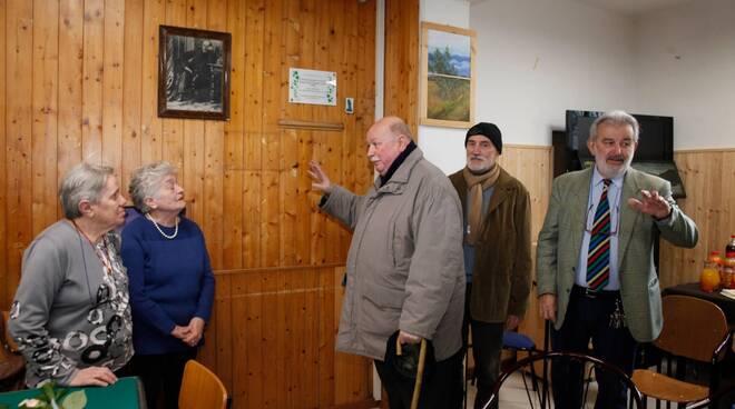 Al Circolo Mameli di Ravenna scoperta targa in ricordo dei fratelli Aldo e Sauro Malta