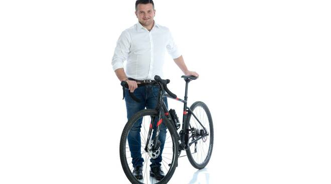 Andrea Liverani bici