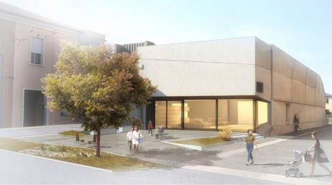 """Conselice, rendering del nuovo edificio """"Ex Coop"""""""