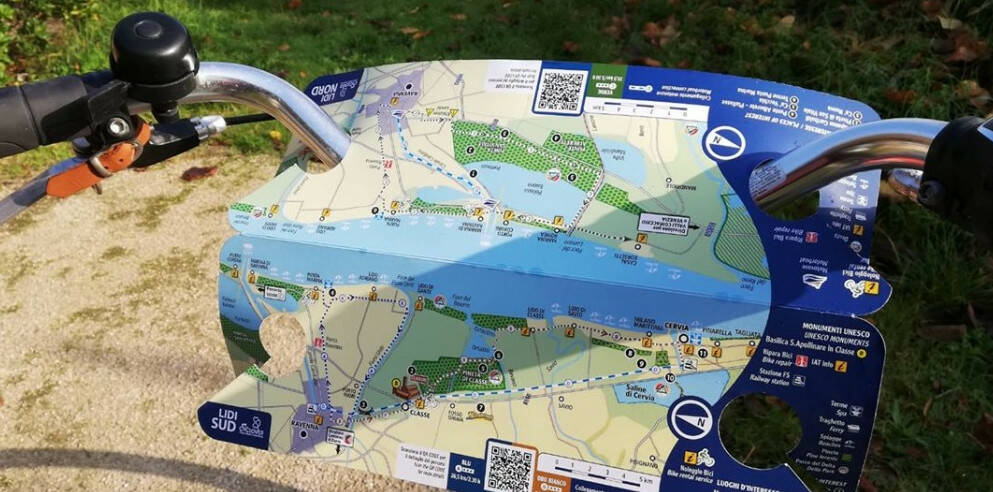 cyclover mappa bicicletta