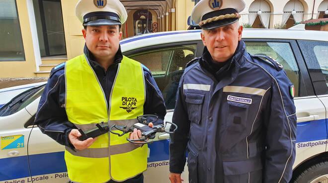 drone polizia locale cervia