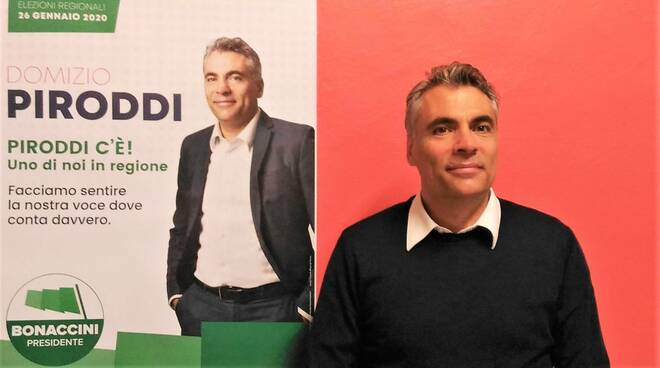 Faenza: Piroddi chiede voti per sbarcare in Consiglio regionale, Cavina candidato a Palazzo Manfredi, conf stampa