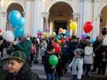 Fiorita dei bambini: un mare di palloncini biodegradabili invade il Duomo di Ravenna