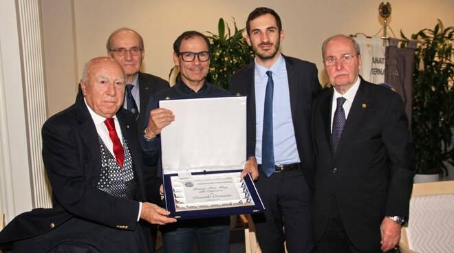 Cassani premiato a Cesenatico
