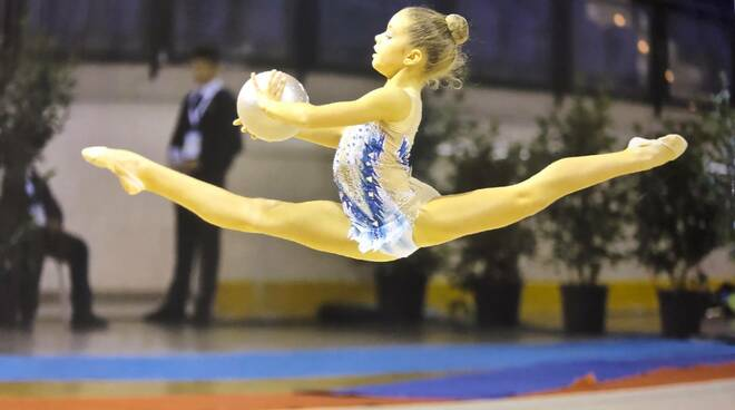 ginnastica ritmica Alice Vandini Edera Ravenna