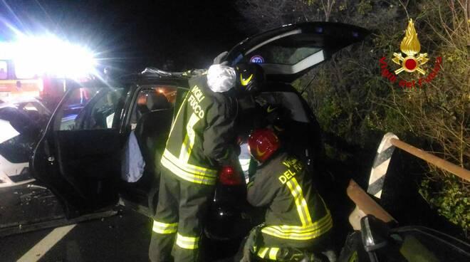 incidente stradale rimini