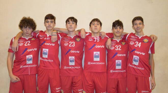 Natale azzurro per 6 ragazzi del Porto Robur Costa, a Roma con lo staff delle nazionali giovanili