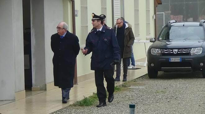 omicidio Bravi - Mancini e De Cinti sul posto