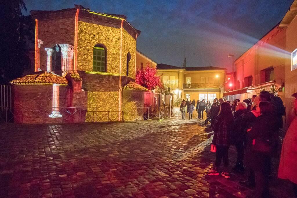 Ravenna in Luce 2019 - San Vitale e Battistero degli Ariani