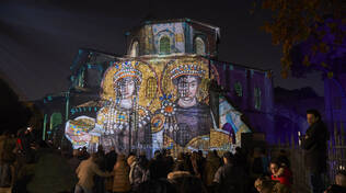 ravenna in luce videomapping