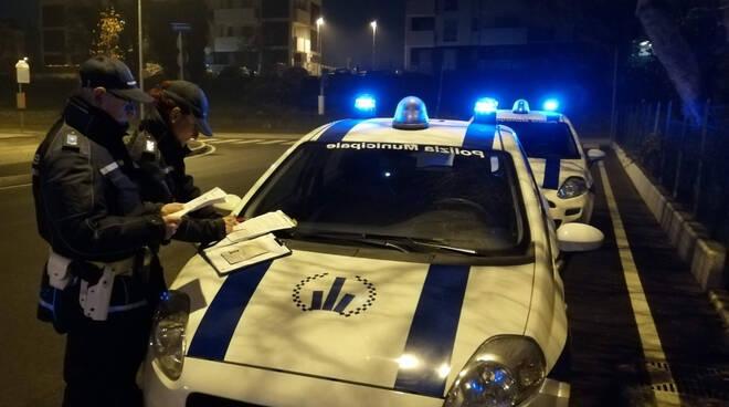 rimini nord - controlli polizia locale