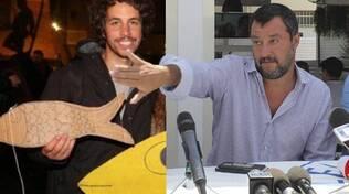 Salvini in centro, Sardine in Darsena FOTO OK!