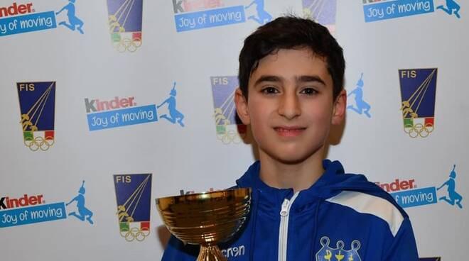 Scherma Cervia Under 14: Oro per Francesco Delfino nella 1a prova nazionale a Vercelli