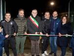 Taglio del nastro campo da calcio-Faenza