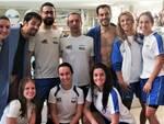 Un gruppo di nuotatori Master del Centro Sub Nuoto Club 2000 Faenza.