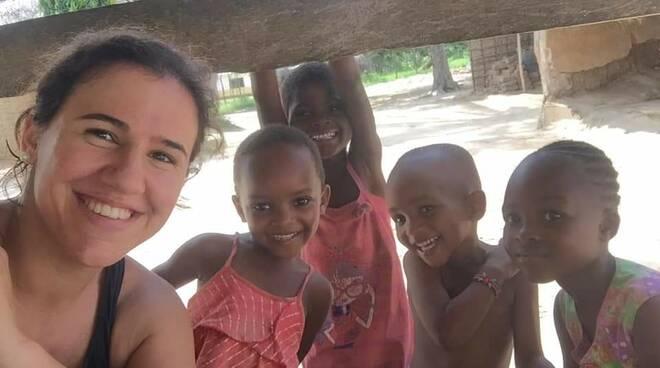 Valentina Chellini . volontariato in Africa