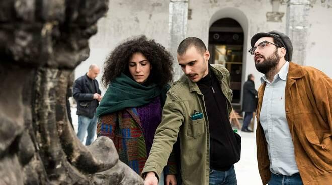 """Bagnacavallo. L'assessore alla Cultura a Napoli per l'apertura di """"Black Square"""" di Nicola Samorì"""