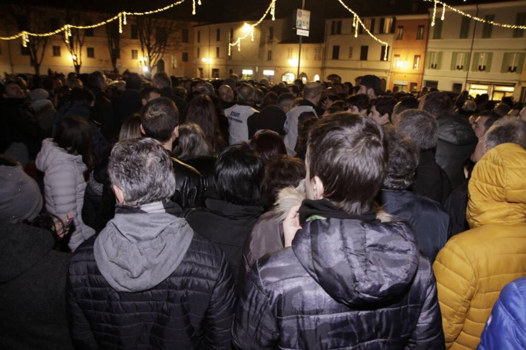 Bagno di folla per Matteo Salvini a Faenza
