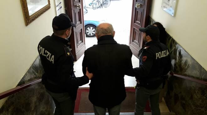borseggiatore arrestato rimini