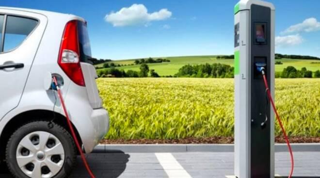colonnine per ricarica auto elettriche