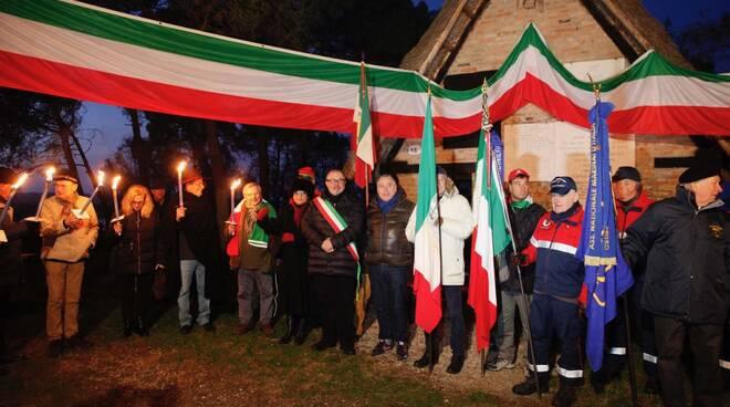 fiaccolata capanno Garibaldi 2019