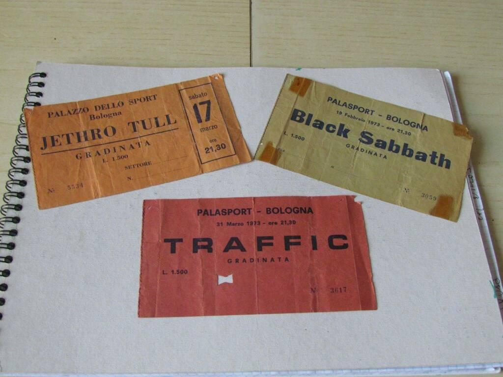 Biglietti concerti anni '70