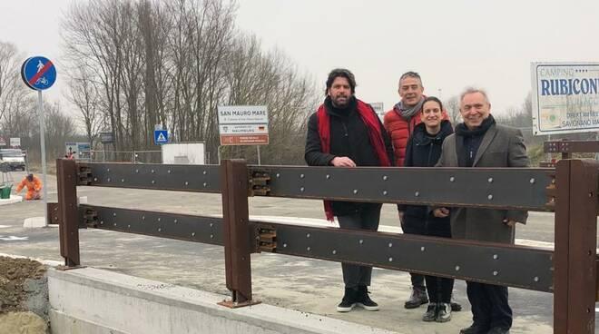 San Mauro Mare. Nuovo ponte