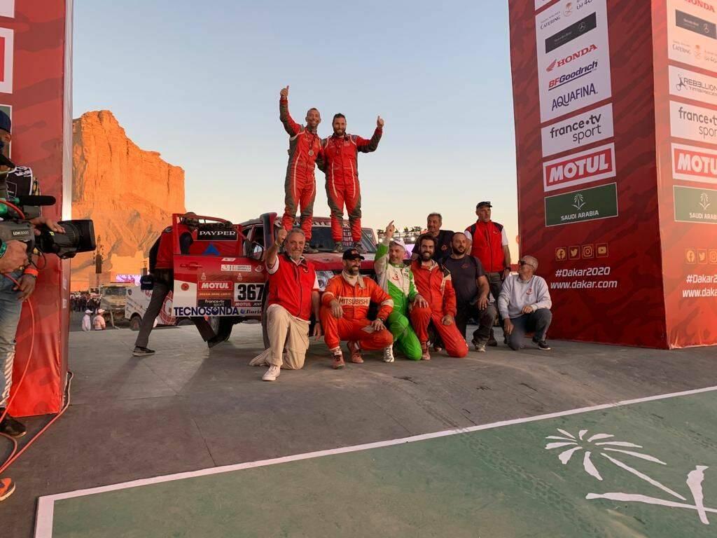 Dakar 2020 R-Team Schiumarini