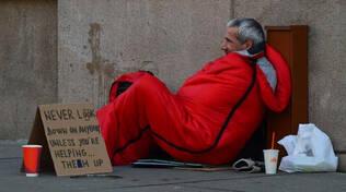 homeless barbone