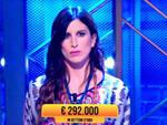 """La presentatrice di Oltremare Debora Grossi ospite del programma """"I Soliti Ignoti"""" su Rai Uno"""