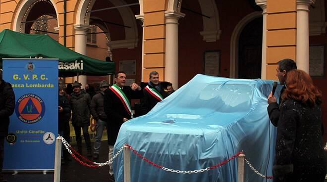 Massa Lombarda: inaugurato un nuovo mezzo a disposizione della Protezione Civile