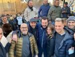 Matteo Salvini in visita a Castrocaro e Terra del Sole