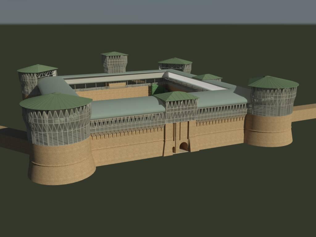 Progetto Rocca Brancaleone: l'Arce