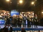 Ravenna, 24 gennaio 2020: manifestazione del centrodestra in Piazza del Popolo