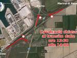Ravenna. Oggi, 30 gennaio, Via Trieste chiusa per mezz'ora nel tratto del cavalcavia