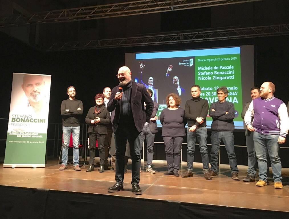 Sabato 18 gennaio 2020: de Pascale, Zingaretti e Bonaccini all'Almagià di Ravenna