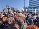 Salvini a Cesenatico: le Sardine invadono Piazza Andrea Costa. GUARDA LE FOTO!