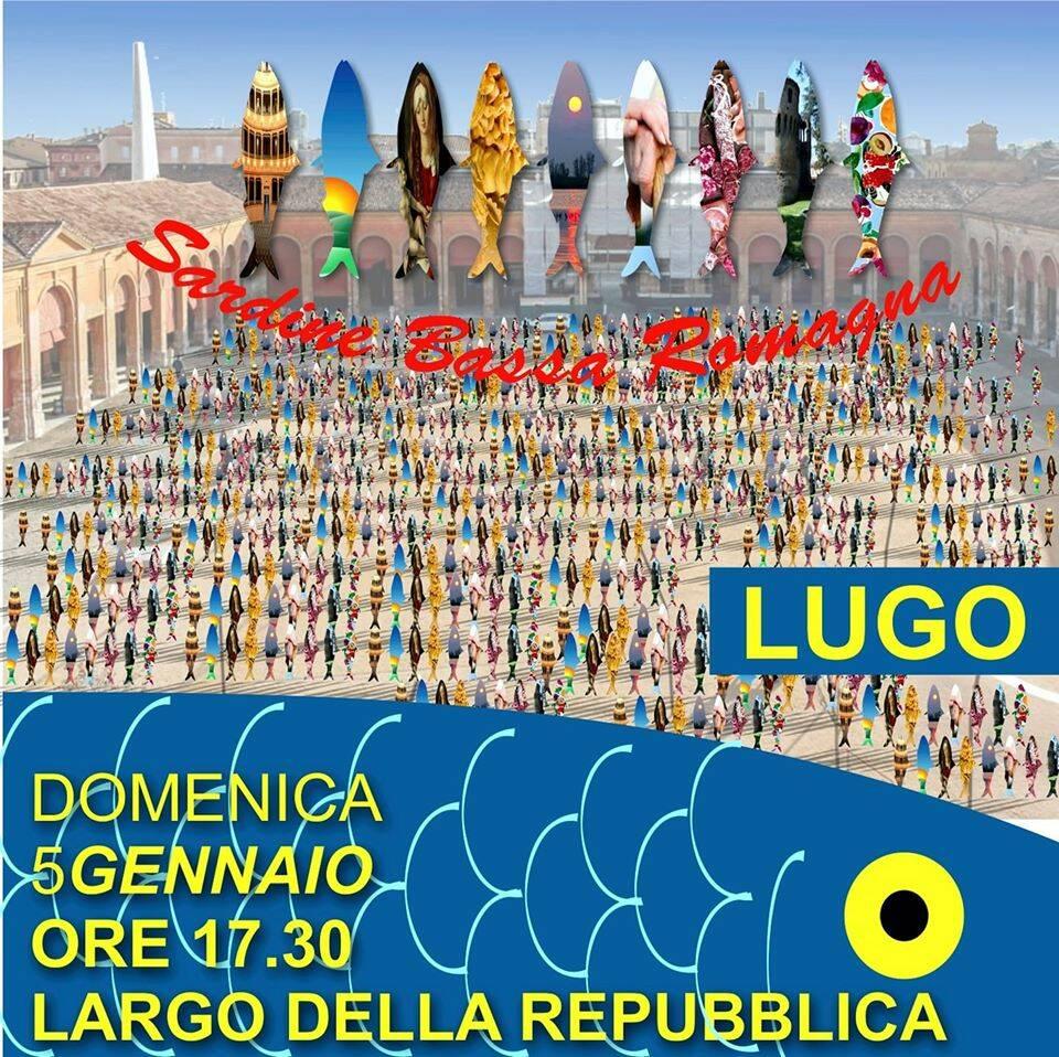 Salvini a Lugo, le Sardine sono pronte