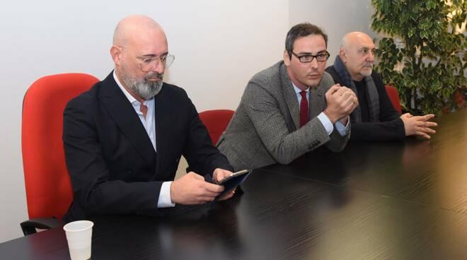 Stefano Bonaccini in visita a Forlì-Cesena