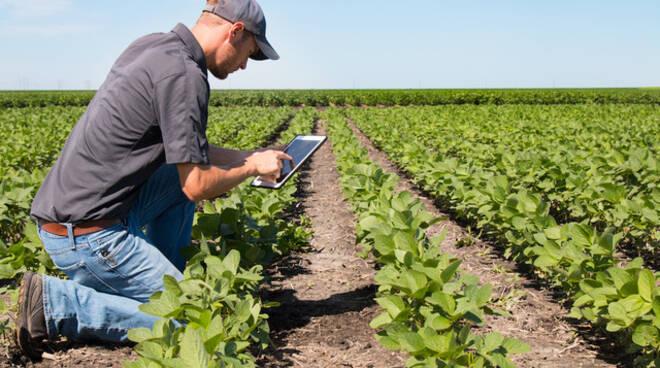 agricoltura - agricoltore tecnologia