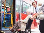 autobus carrozzina disabile