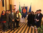 Delegazione della Kwansei Gakuin University e UniParma in visita alla Camera di commercio di Ravenna