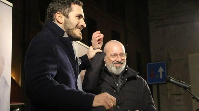 Enzo Lattuca e Stefano Bonaccini