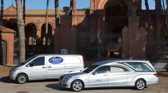 funerale cimitero aser