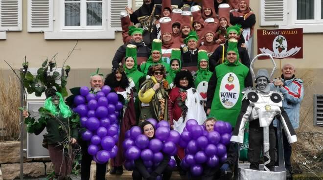 Gruppo DI Vino Bagnacavallo a Nerrsheim