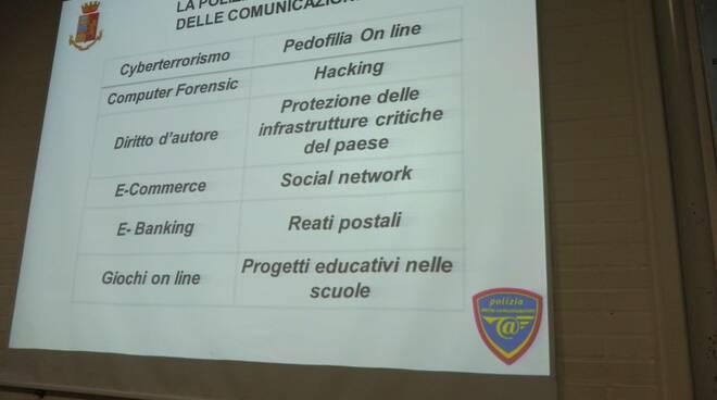 """""""I pericoli della rete"""": gli studenti dell'Istituto Cervia 3 ne parlano con la Polizia"""