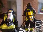 Incendio in un garage a Cattolica